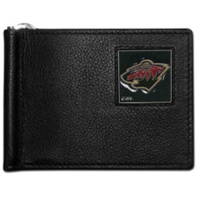 Minnesota Wild Bill Clip Wallet NHL Hockey HBCW145