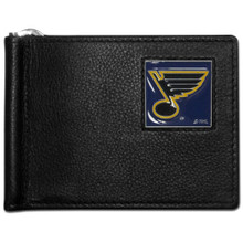 St. Louis Blues Bill Clip Wallet NHL Hockey HBCW15