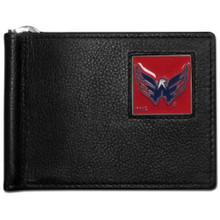 Washington Capitals Bill Clip Wallet NHL Hockey HBCW150