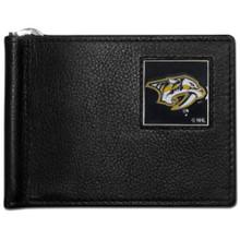 Nashville Predators Bill Clip Wallet NHL Hockey HBCW40