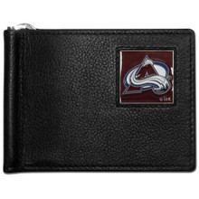 Colorado Avalanche Bill Clip Wallet NHL Hockey HBCW5