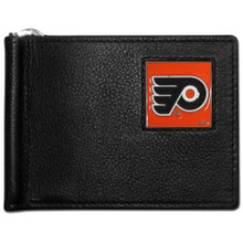 Philadelphia Flyers Bill Clip Wallet NHL Hockey HBCW65