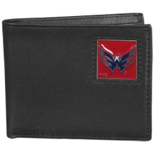 Washington Capitals Black Bifold Wallet NHL Hockey HBI150
