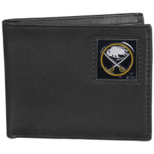Buffalo Sabres Black Bifold Wallet NHL Hockey HBI25