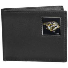 Nashville Predators Black Bifold Wallet NHL Hockey HBI40