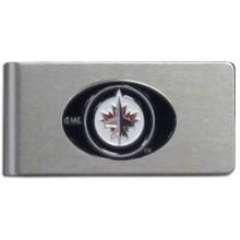 Winnipeg Jets Brushed Money Clip NHL Hockey HBMC155