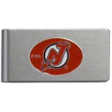 New Jersey Devils Brushed Money Clip NHL Hockey HBMC50