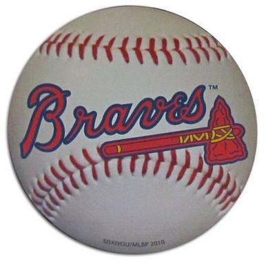 Atlanta Braves Large Baseball Magnet MLB Baseball B5RM025