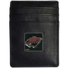 Minnesota Wild Leather Money Clip Card Holder Wallet NHL Hockey HCH145