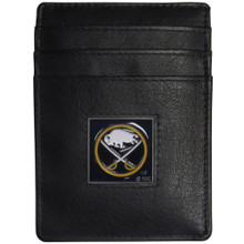 Buffalo Sabres Leather Money Clip Card Holder Wallet NHL Hockey HCH25