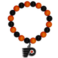 Philadelphia Flyers Fan Bead Bracelet NHL Hockey HFBB65