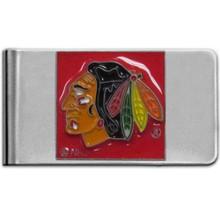 Chicago Blackhawks Logo Money Clip NHL Hockey HMCL10