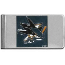 San Jose Sharks Logo Money Clip NHL Hockey HMCL115