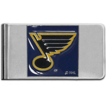 St. Louis Blues Logo Money Clip NHL Hockey HMCL15