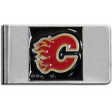 Calgary Flames Logo Money Clip NHL Hockey HMCL60