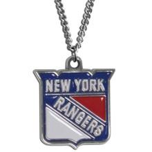 New York Rangers Logo Chain Necklace NHL Hockey HN105N