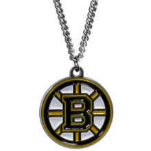 Boston Bruins Logo Chain Necklace NHL Hockey HN20N
