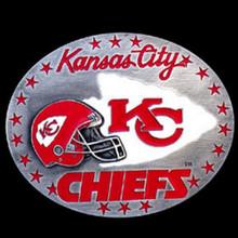 Kansas City Chiefs Helmet Belt Buckle NFL Football SFB045