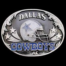 Dallas Cowboys Helmet Belt Buckle NFL Football SFB055D