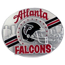 Atlanta Falcons Helmet Belt Buckle NFL Football SFB070