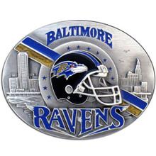 Baltimore Ravens Helmet Belt Buckle NFL Football SFB180