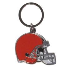 Cleveland Browns Chrome Key Logo Chain NFL Football SFCK025