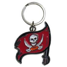 Tampa Bay Buccaneers Chrome Key Logo Chain NFL Football SFCK030