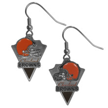 Cleveland Browns Pendant Dangle Earrings NFL Football SFE025