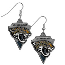 Jacksonville Jaguars Pendant Dangle Earrings NFL Football SFE175