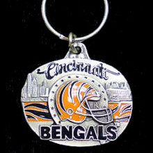 Cincinnati Bengals Design Key Chain NFL Football SFK011