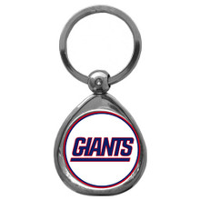 New York Giants Domed Key Chain NFL Football SFK090C