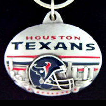 Houston Texans Design Key Chain NFL Football SFK191