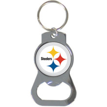 Pittsburgh Steelers Bottle Opener Key Chain NFL Football SFKB160