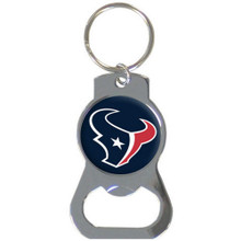 Houston Texans Bottle Opener Key Chain NFL Football SFKB190