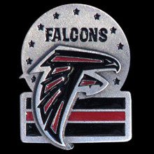 Atlanta Falcons Team Logo Pin NFL Football SFP071