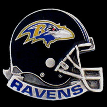 Baltimore Ravens Helmet Pin NFL Football SFP180