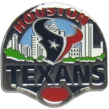 Houston Texans Team Pin NFL Football SFP190C