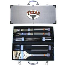 Texas Longhorns BBQ Set 8 pc NCCA College Sports BBQC22B