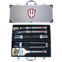 Indiana Hoosiers BBQ Set 8 pc NCCA College Sports BBQC39A