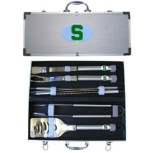 Michigan State Spartans BBQ Set 8 pc NCCA College Sports BBQC41B
