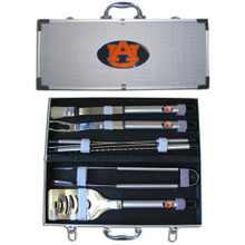 Auburn Tigers BBQ Set 8 pc NCCA College Sports BBQC42B