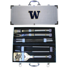 Washington Huskies BBQ Set 8 pc NCCA College Sports BBQC49B