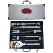 Mississippi Rebels BBQ Set 8 pc NCCA College Sports BBQC59B