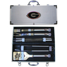 Georgia Bulldogs BBQ Set 8 pc NCCA College Sports BBQC5B