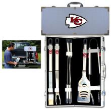 Kansas City Chiefs 8 pc BBQ Set