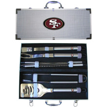 San Francisco 49ers 8 pc BBQ Set