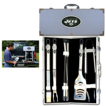 New York Jets 8 pc BBQ Set