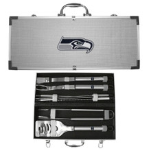 Seattle Seahawks 8 pc BBQ Set