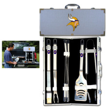 Minnesota Vikings 8 pc BBQ Set