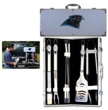 Carolina Panthers 8 pc BBQ Set